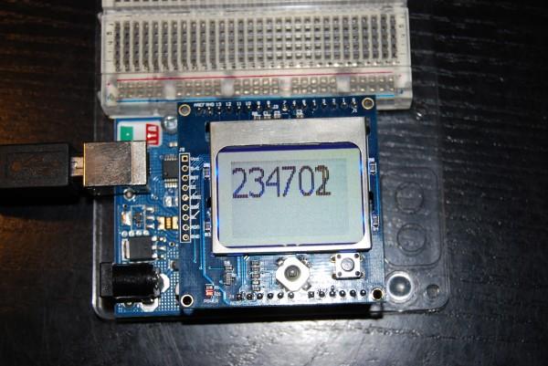 Arduino NTP Clock Nokia 5110 LCD MarciPain blog
